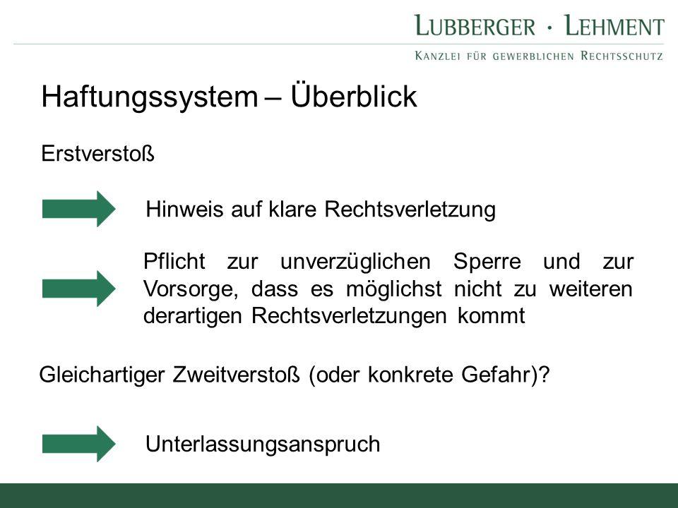 Andere Mittler im Internet Usenet OLG Hamburg, Urt.