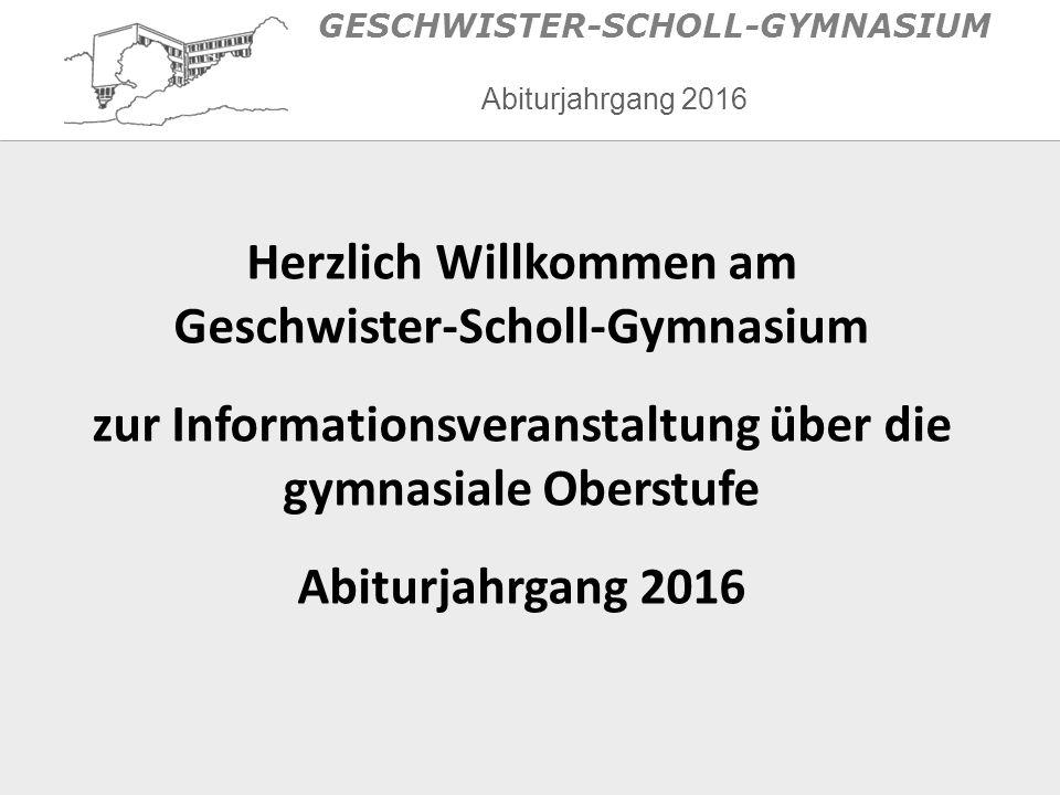 Allgemeines Aufbau der Sekundarstufe II  Einführungsphase (EF/Jg.