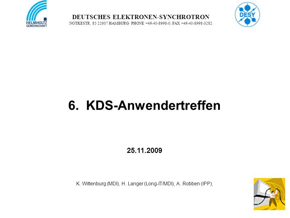 2 2 DEUTSCHES ELEKTRONEN-SYNCHROTRON NOTKESTR.85 22607 HAMBURG PHONE +49-40-8998-0.