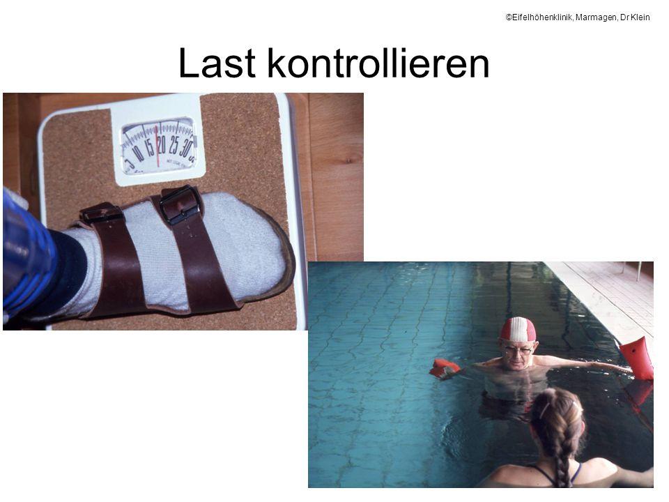 Last kontrollieren ©Eifelhöhenklinik, Marmagen, Dr Klein