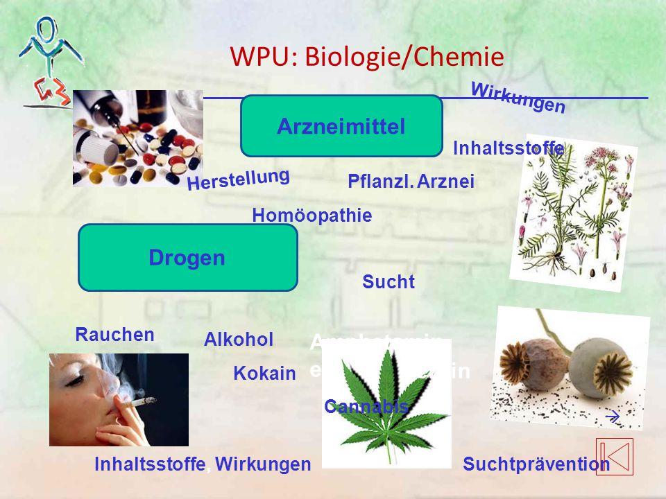 Drogen Herstellung Wirkungen Inhaltsstoffe Arzneimittel Homöopathie Pflanzl. Arznei Kokain Suchtprävention Sucht Amphetamin e Heroin … Rauchen Cannabi