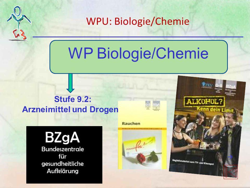 WP Biologie/Chemie Stufe 9.2: Arzneimittel und Drogen WPU: Biologie/Chemie 