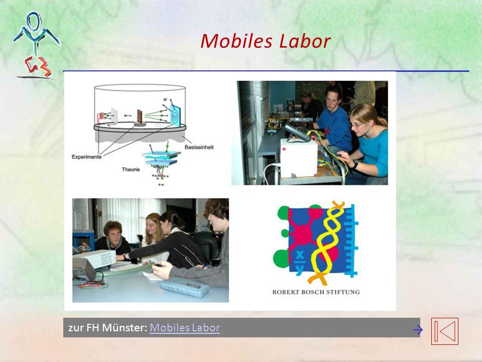 Mobiles Labor zur FH Münster: Mobiles LaborMobiles Labor 
