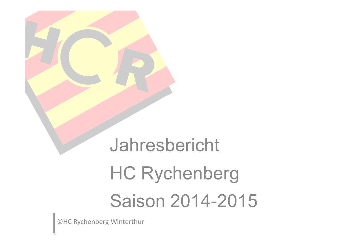 Jahresbericht HC Rychenberg Saison 2014-2015