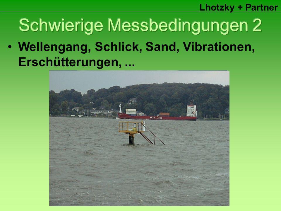 Lhotzky + Partner Wellengang, Schlick, Sand, Vibrationen, Erschütterungen,...