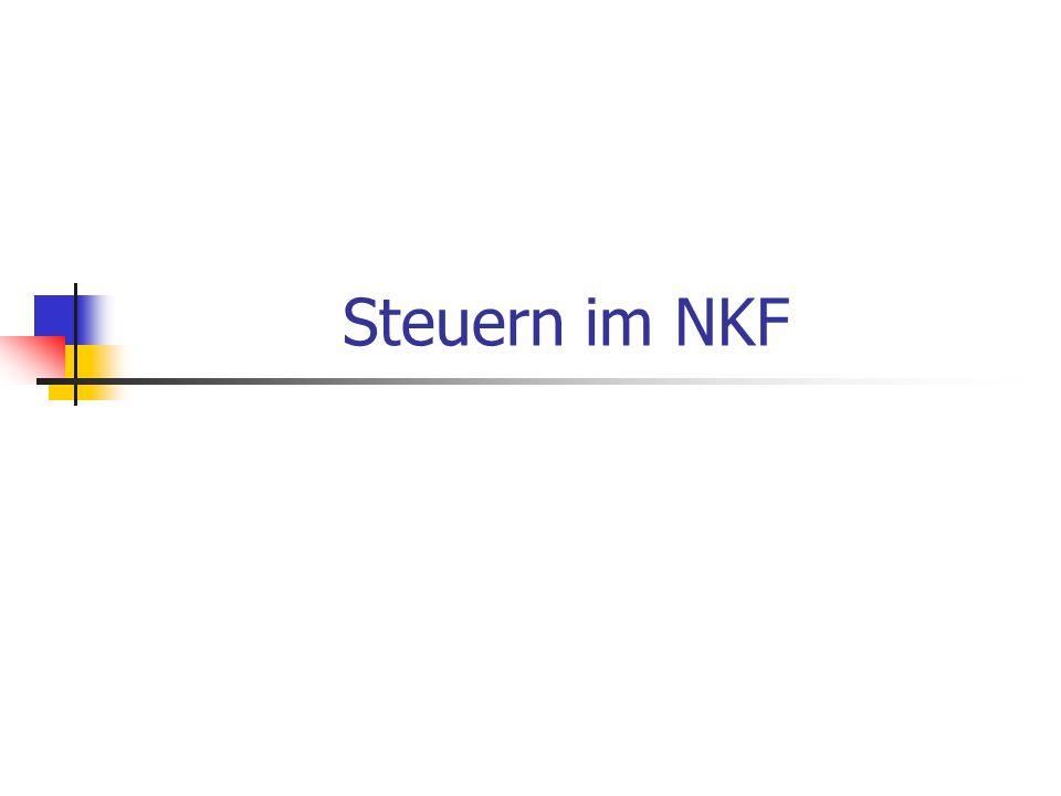 Steuern im NKF
