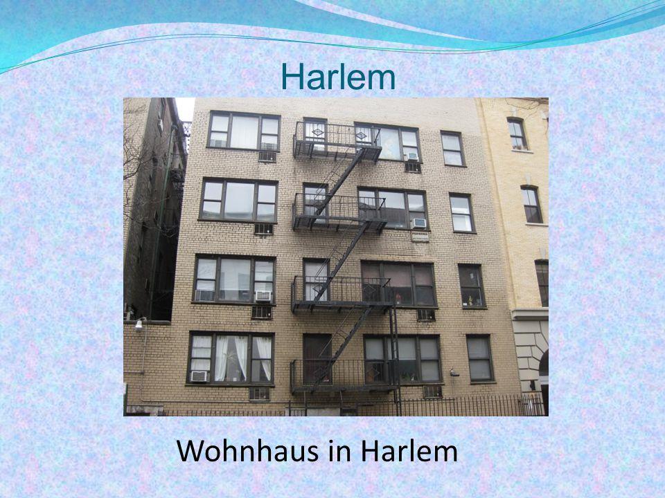 Harlem Wohnhaus in Harlem