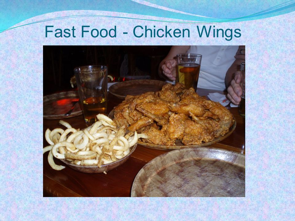 Fast Food - Chicken Wings