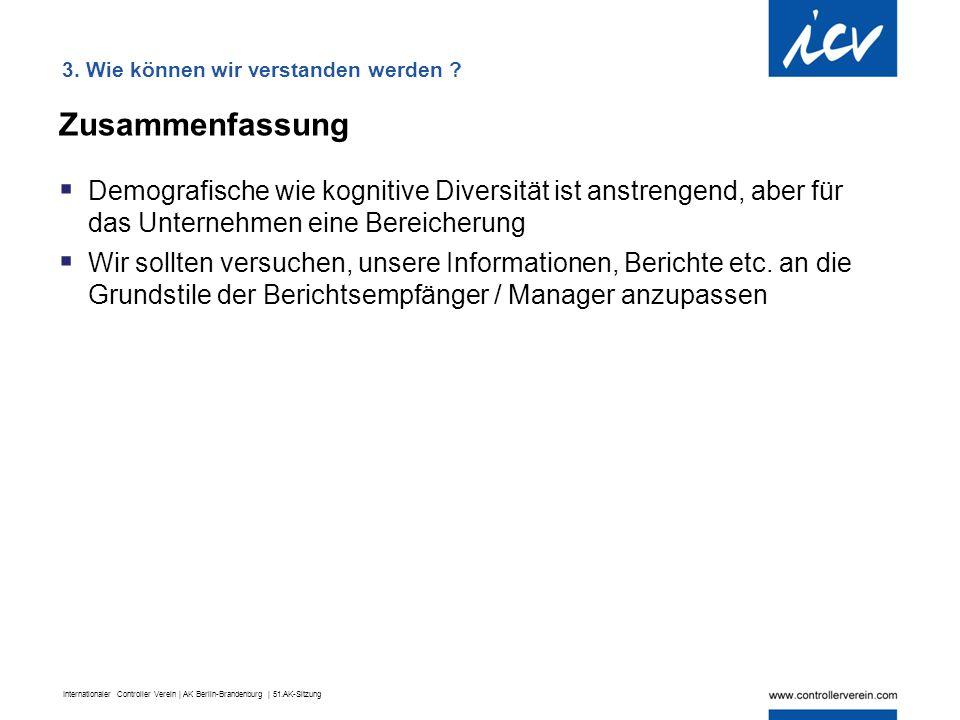 Internationaler Controller Verein | AK Berlin-Brandenburg | 51.AK-Sitzung Zusammenfassung  Demografische wie kognitive Diversität ist anstrengend, ab