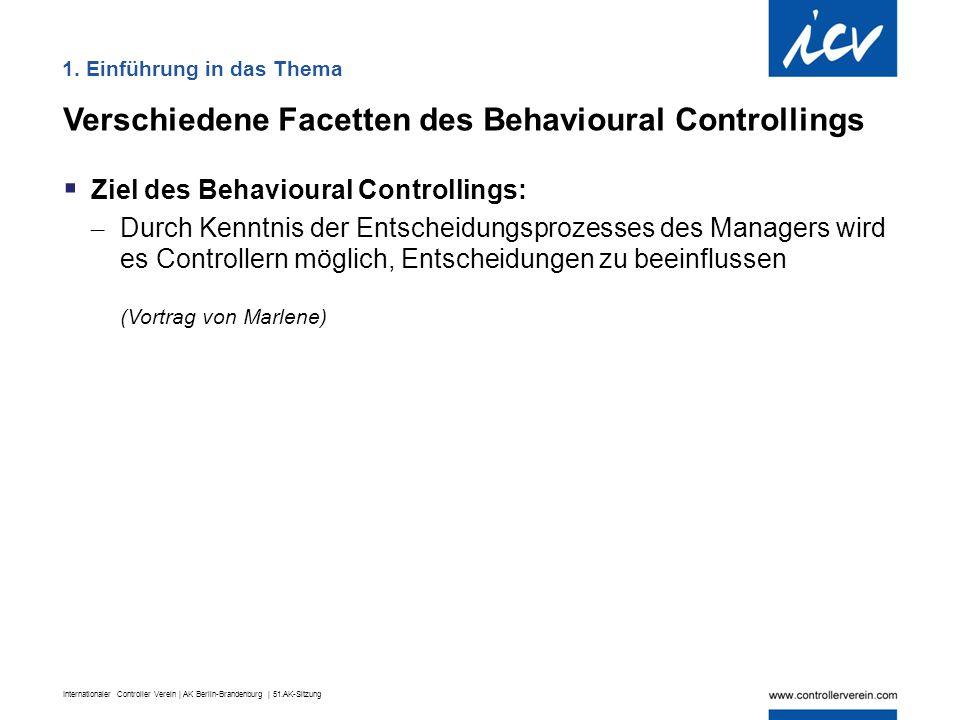 Internationaler Controller Verein | AK Berlin-Brandenburg | 51.AK-Sitzung Zudem sollten Controlling-Berichte auf den jeweiligen Zielbereich ausgerichtet werden  Nur die Informationen, Zahlen liefern, die für einen Bereich relevant sind:  Sind diese für den Empfänger wirklich bedeutsam .