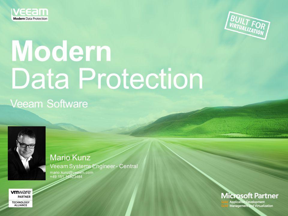 Veeam hilft Kunden bei der Modernisierung der Datensicherung http://vee.am/backupstories