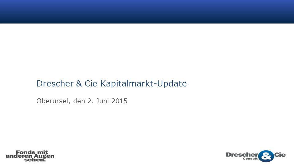 Drescher & Cie Kapitalmarkt-Update Oberursel, den 2. Juni 2015