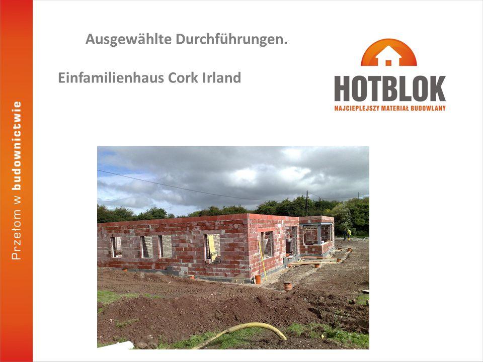 Ausgewählte Durchführungen. Einfamilienhaus Cork Irland