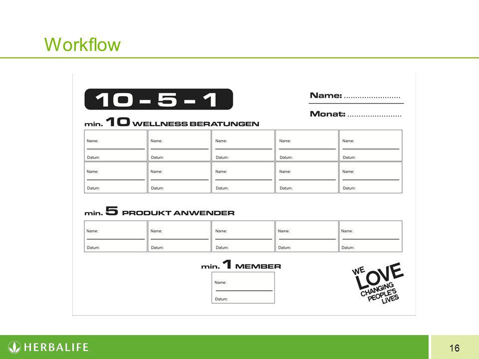 16 Workflow