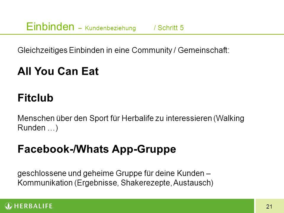 21 Gleichzeitiges Einbinden in eine Community / Gemeinschaft: All You Can Eat Fitclub Menschen über den Sport für Herbalife zu interessieren (Walking
