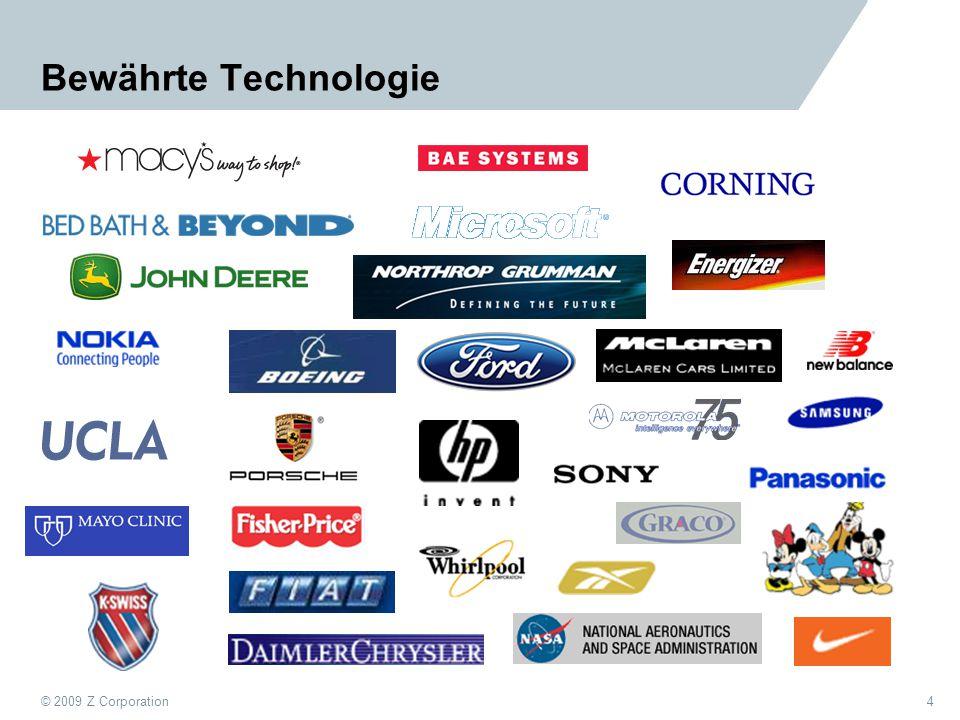 © 2009 Z Corporation5 Wie werden ZScanner eingesetzt.