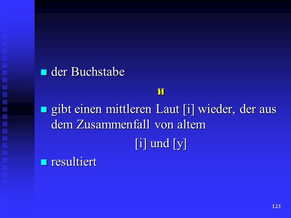 122 der Apostroph verwendet man, um die Trennung zwier Laute zu bezeichnen: verwendet man, um die Trennung zwier Laute zu bezeichnen: сiм'́я r. семя d