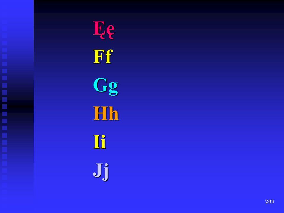 202 ĆćDd (Dz dz) (Dź dź) (Dż dż) Ee