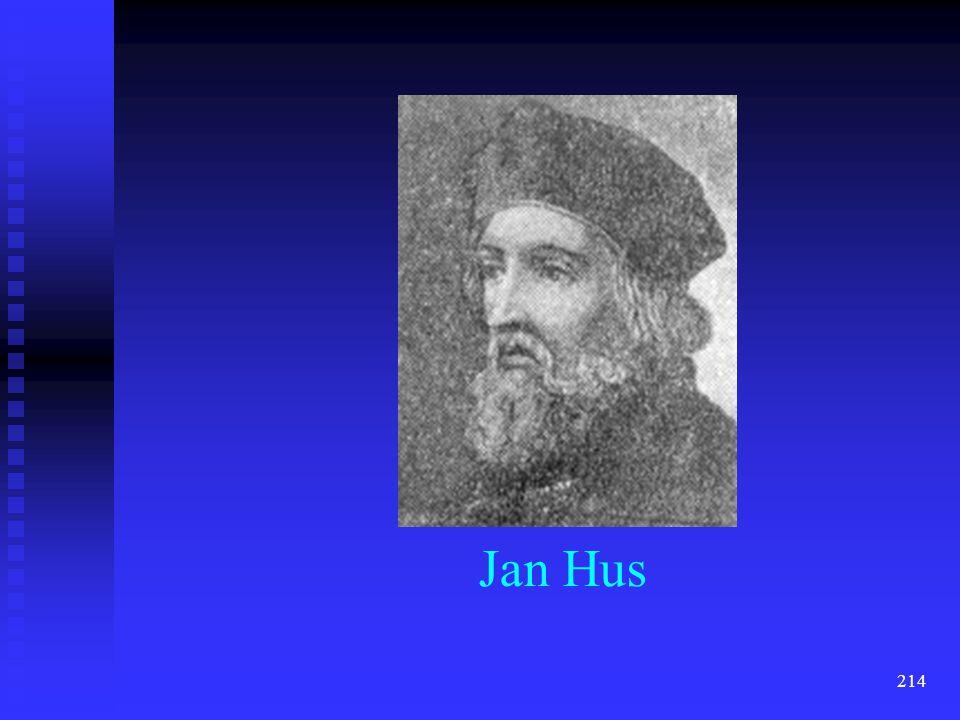213 Jan Hus (1369-1415)