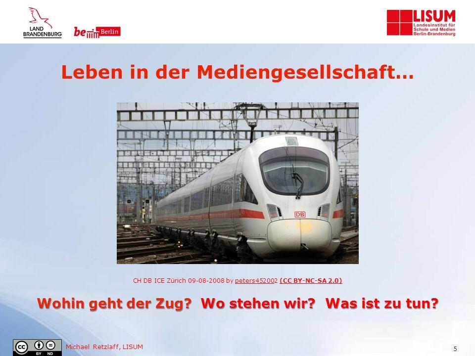 Michael Retzlaff, LISUM Leben in der Mediengesellschaft… Wohin geht der Zug? Wo stehen wir? Was ist zu tun? CH DB ICE Zürich 09-08-2008 by peters45200