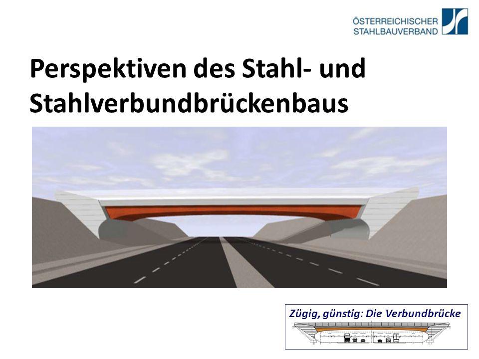 Perspektiven des Stahl- und Stahlverbundbrückenbaus Zügig, günstig: Die Verbundbrücke