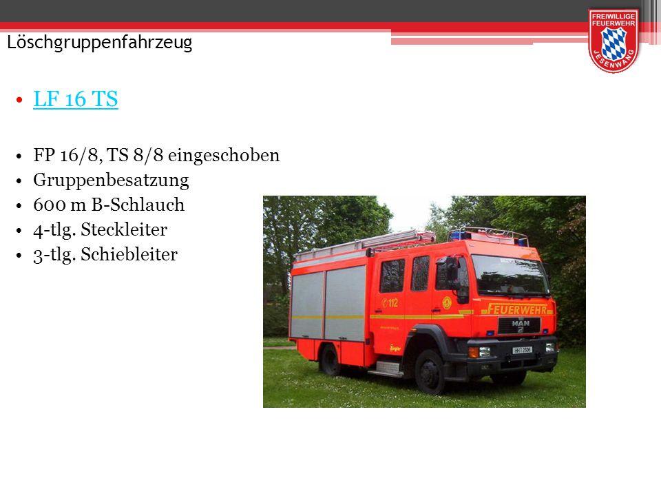 Löschgruppenfahrzeug LF 20/16 HLF 20/16 Allrad 1600 l bis 2400 l Wassertank Hilfeleistungssatz 3-tlg.