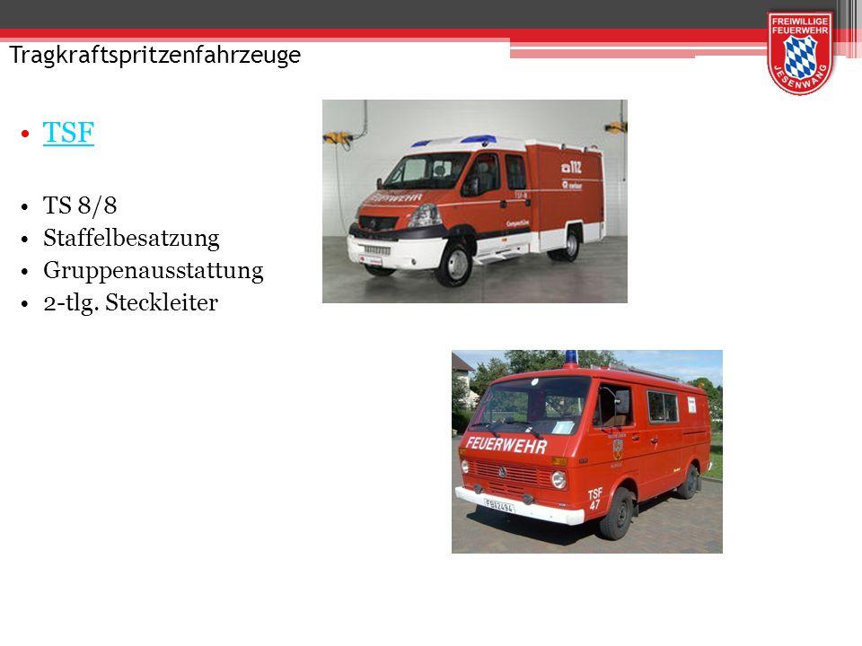 Tanklöschfahrzeug TLF 20/40 FP 10/2000 4000 Liter Wasser 120 bis 200 Liter Schaummittel Truppbesatzung
