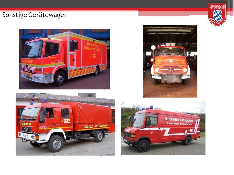 Gerätewagen Gefahrgut GW-G Truppbesatzung (1/2/3) oder (1/1/2)