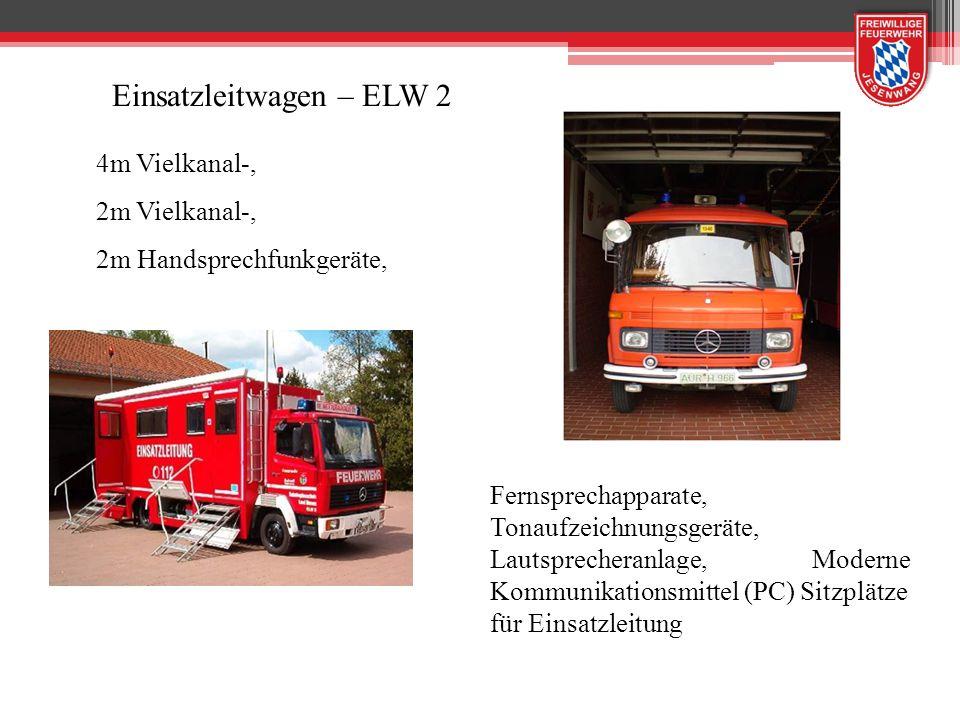Tragkraftspritzenfahrzeuge TSF-W TS 8/8 500 l Wassertank Staffelbesatzung Gruppenausstattung 4-tlg.