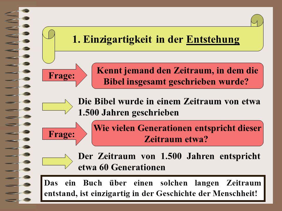 II.Die Inspiration der Bibel Das biblische Zeugnis zur Inspiration b) 2.