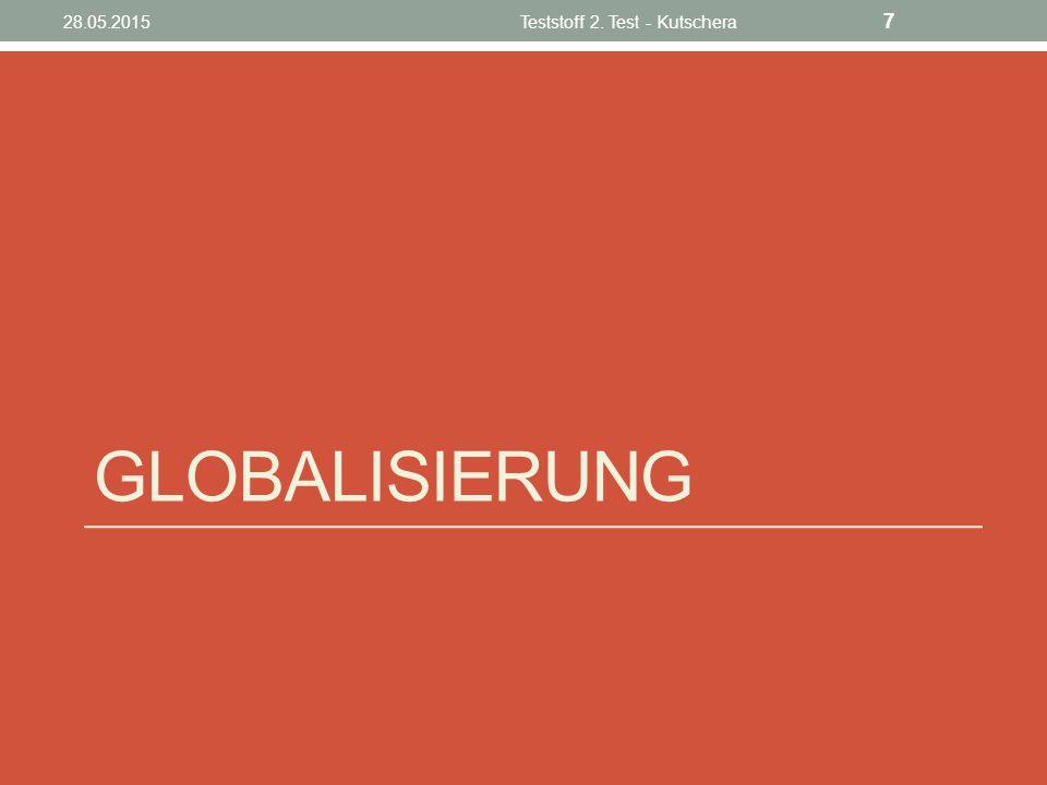 Was ist Globalisierung Der Begriff Globalisierung bezeichnet den Vorgang, dass internationale Verflechtungen in vielen Bereichen (Wirtschaft, Politik, Kultur, Umwelt, Kommunikation) zunehmen, und zwar zwischen Individuen, Gesellschaften, Institutionen und Staaten.