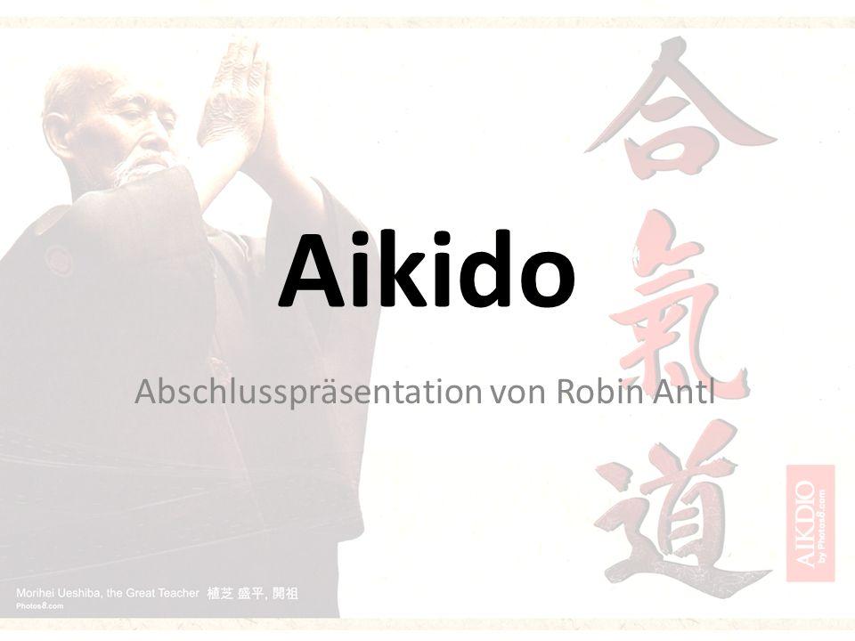 Was ist Aikido.Defensive japanische Kampfkunst Anfang des 20.