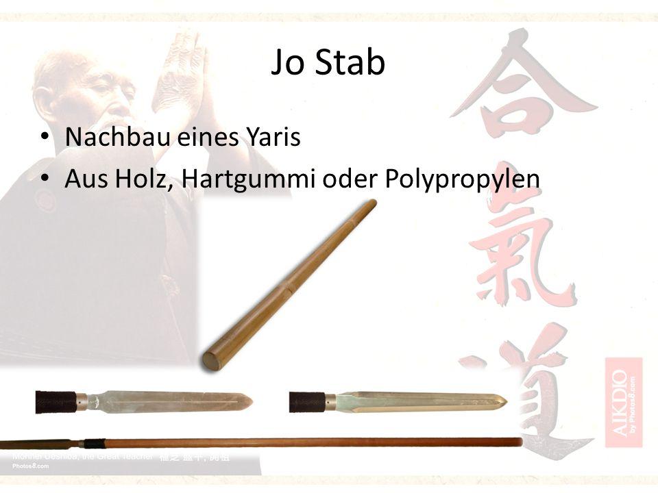 Jo Stab Nachbau eines Yaris Aus Holz, Hartgummi oder Polypropylen