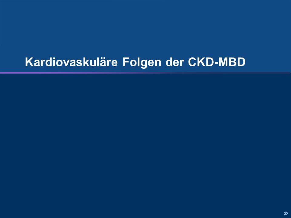 32 Kardiovaskuläre Folgen der CKD-MBD