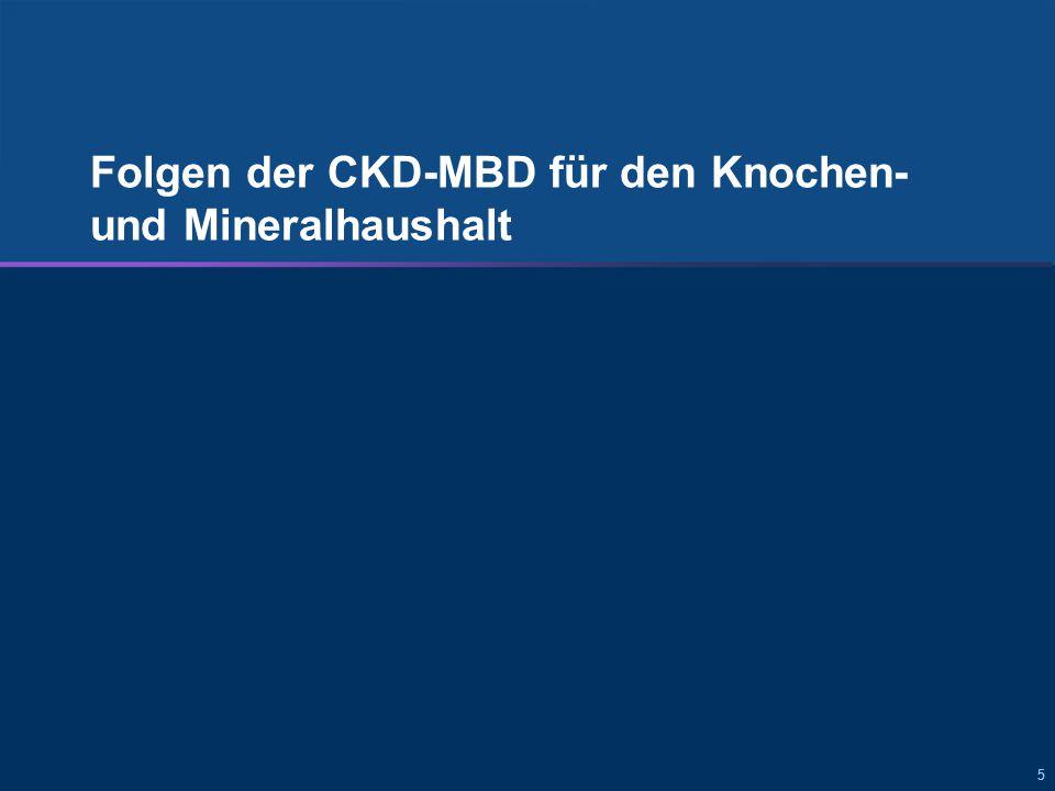 666 Folgen von sekundärem HPT und CKD-MBD für den Knochen- und Mineralhaushalt Knochen und Mineralhaushalt Abnormale Laborwerte Fraktur Parathyreoidektomie Folgen der CKD-MBD für den Knochen- und Mineralhaushalt: Abnormale Laborwerte