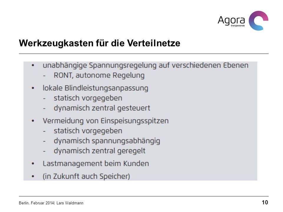 Werkzeugkasten für die Verteilnetze Berlin, Februar 2014| Lars Waldmann 10
