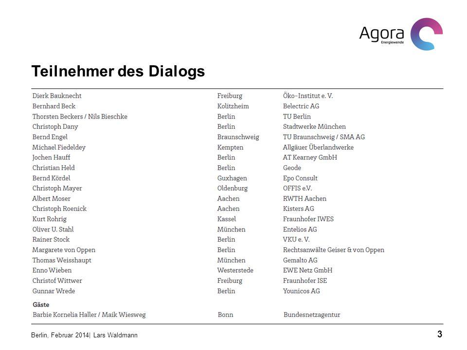 Teilnehmer des Dialogs Berlin, Februar 2014| Lars Waldmann 3