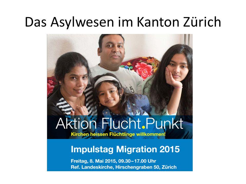 Durchgangszentren Aufgaben / Betrieb 12Impulstag 2015 Reformierte Landeskirchen -Entlastung der Gemeinden -Vorbereitung auf das Leben in der Gemeinde -Schulpflicht Kinder -Evtl.