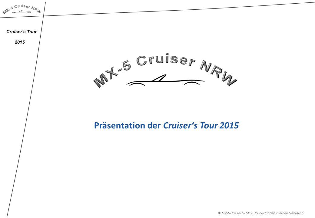 Präsentation der Cruiser's Tour 2015 © MX-5 Cruiser NRW 2015, nur für den internen Gebrauch