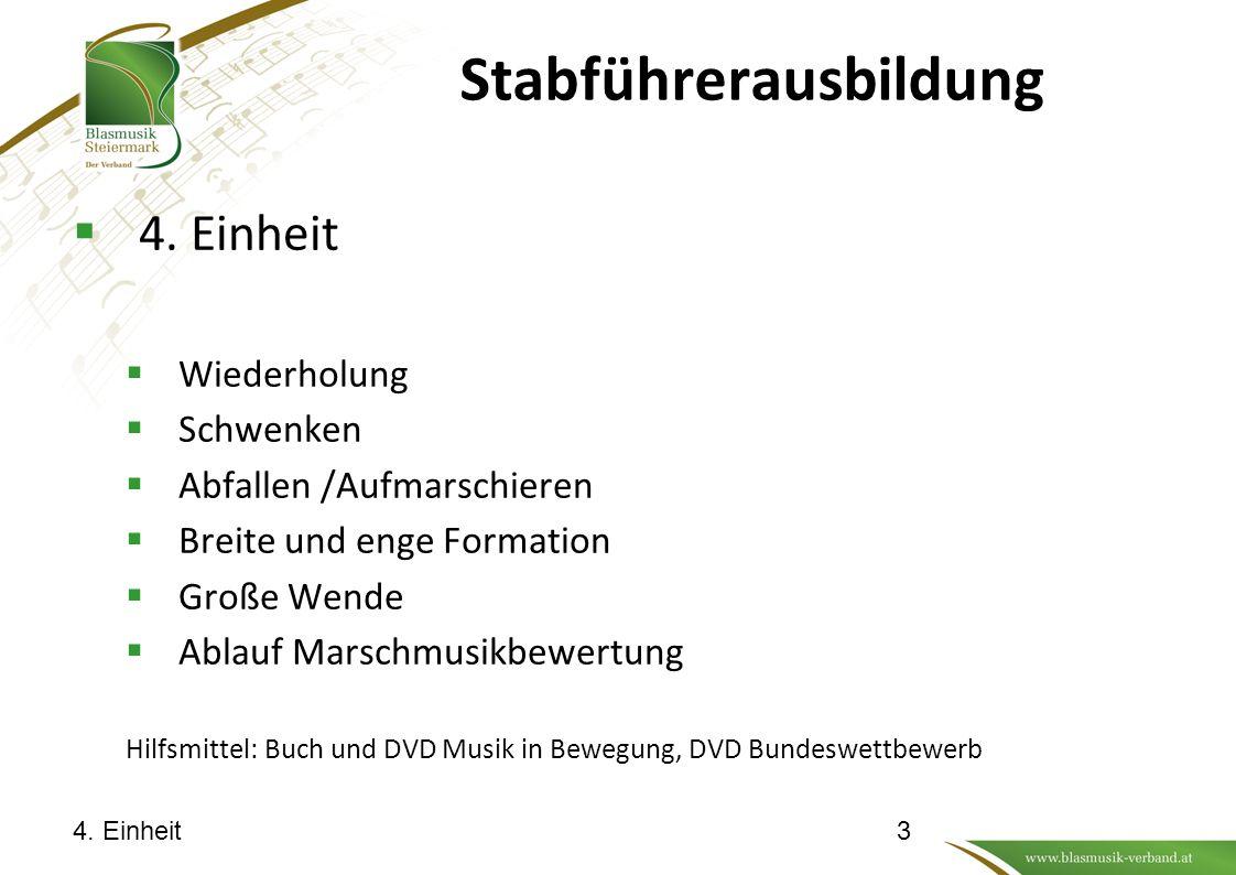 Stabführerausbildung 4. Einheit14