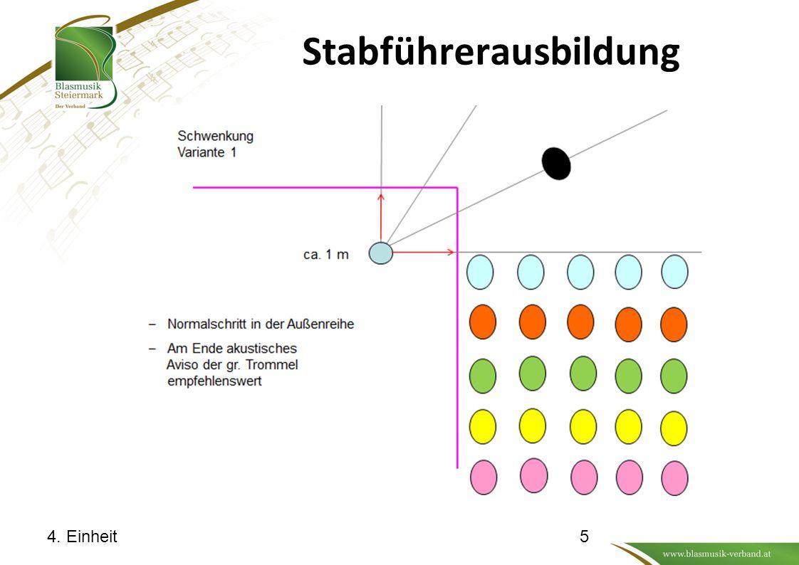 Stabführerausbildung 4. Einheit16
