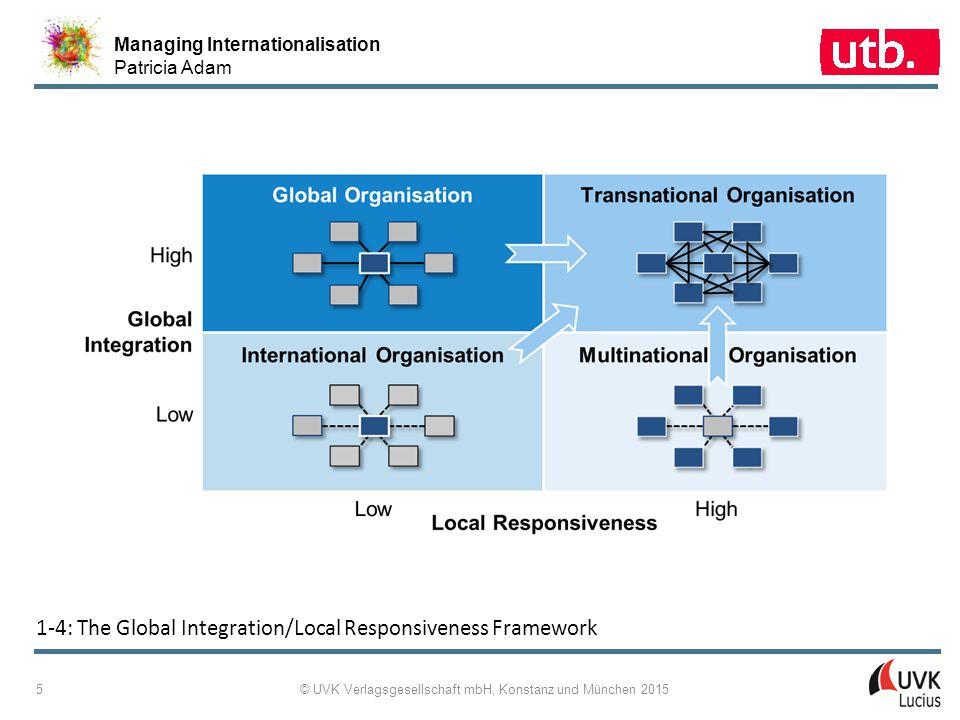 Managing Internationalisation Patricia Adam © UVK Verlagsgesellschaft mbH, Konstanz und München 2015 16 1 ‑ 11: Definitions of the EFQM Results Criteria
