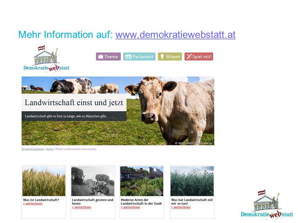 """Landwirtschaft heute und morgen Zwei Wege öffneten sich für Österreichs Bauern, um in der globalisierten Welt mit weltweitem Handel zu bestehen: Großbetriebe und Zusammenschlüsse, um billig und in ausreichender Menge für internationale Partner attraktiv zu sein Spezialisierung auf """"Besonderes – seltene Nutzpflanzen (Buchweizen, Hanf, Ginkgo) und besondere Nutztiere (Truthahn oder Strauß) sind leichter zu verkaufen."""