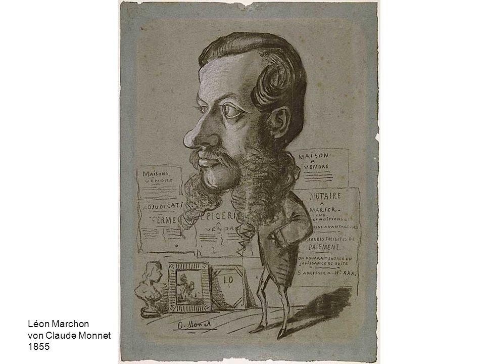 Léon Marchon von Claude Monnet 1855