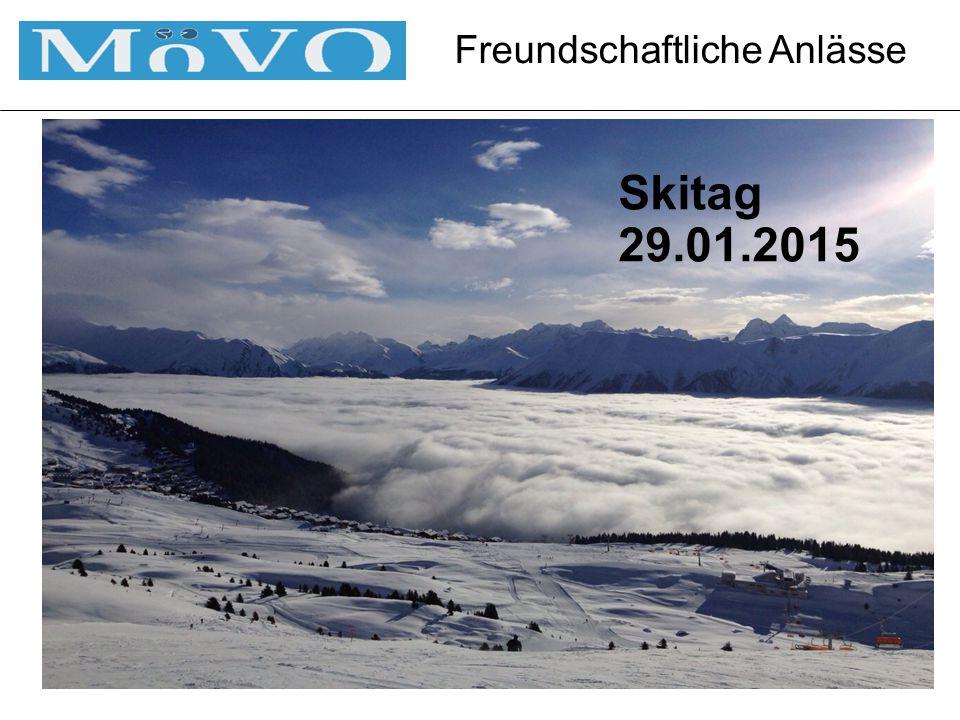 Freundschaftliche Anlässe Skitag 29.01.2015