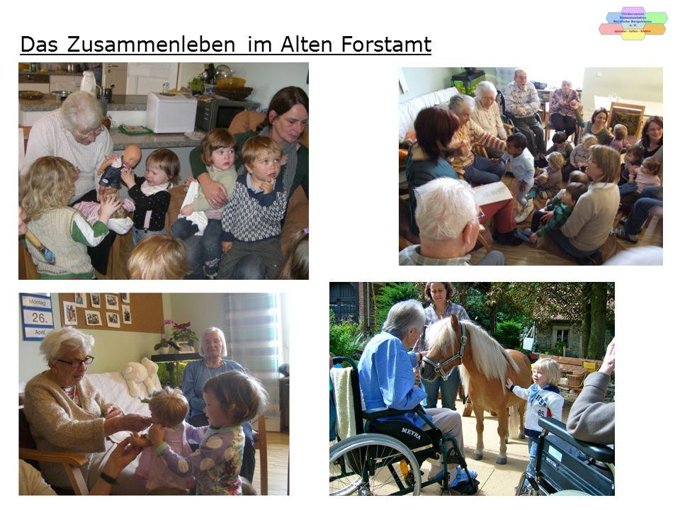 Öffentlichkeit im Alten Forstamt Laternenfest Tag des offenen Denkmals Sommerfest mit Musik