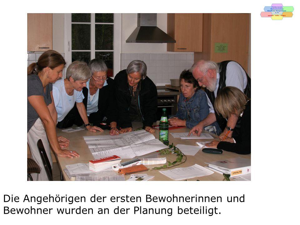 """Der Grundriss der Wohngemeinschaft """"Altes Forstamt"""
