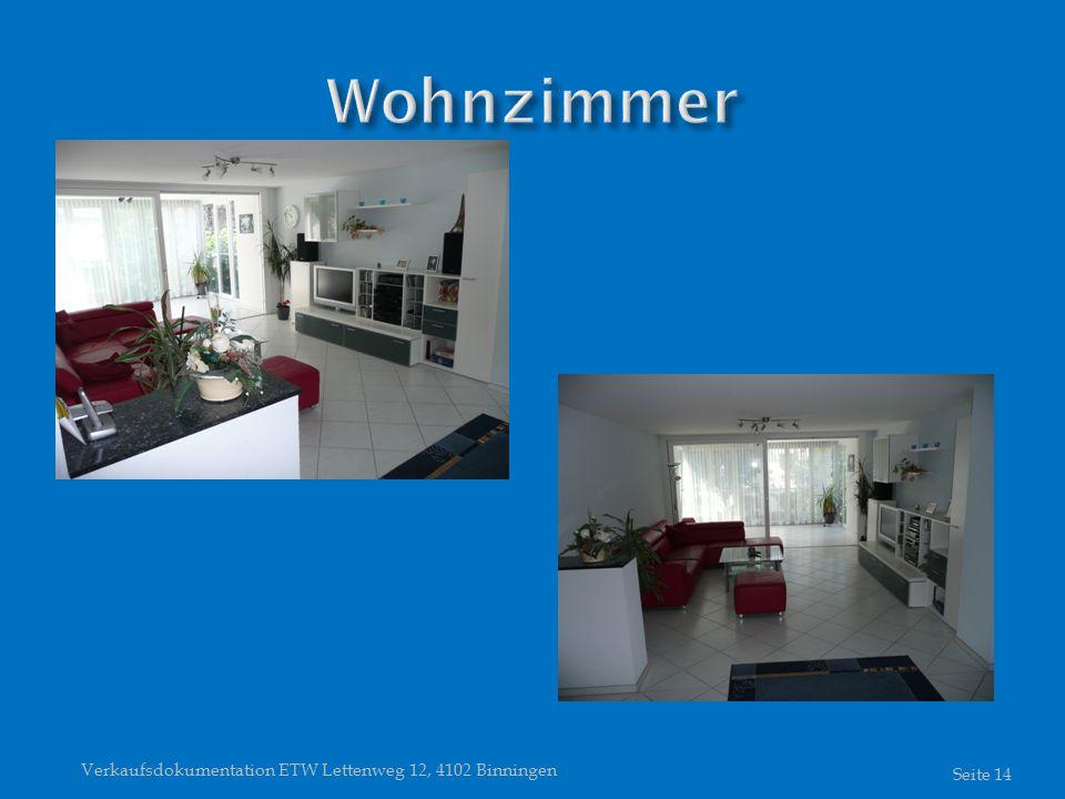 Verkaufsdokumentation ETW Lettenweg 12, 4102 Binningen Seite 14
