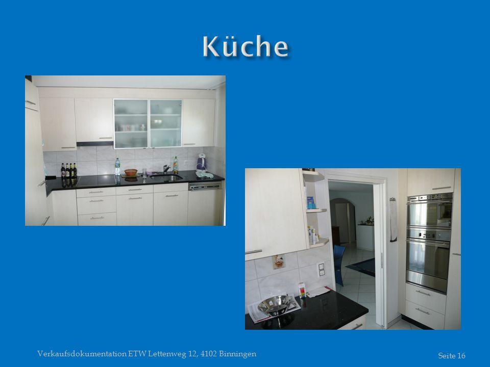Verkaufsdokumentation ETW Lettenweg 12, 4102 Binningen Seite 16