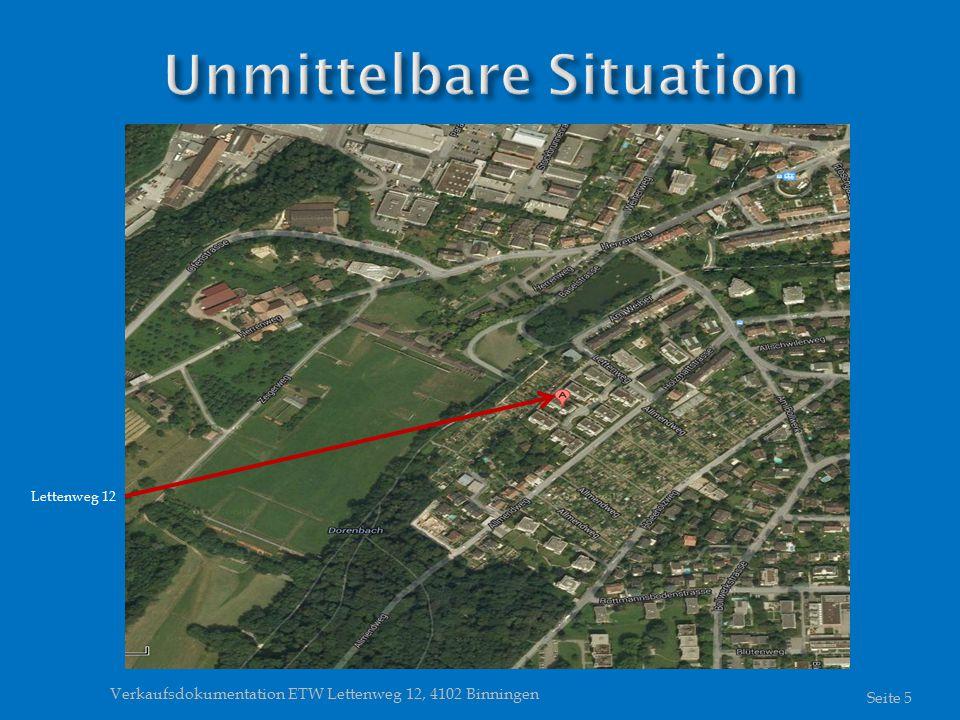 Verkaufsdokumentation ETW Lettenweg 12, 4102 Binningen Seite 5 Lettenweg 12